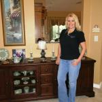 Broker, Tami Beckel, at a client's home in Boca Raton, FL.